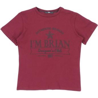 《セール開催中》IMB I'M BRIAN ボーイズ 3-8 歳 T シャツ ボルドー 8 コットン 100%
