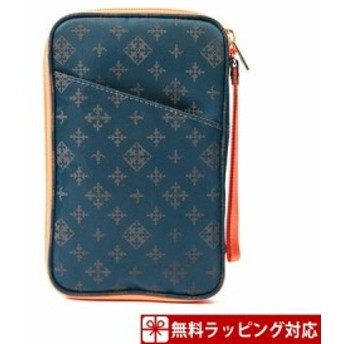 ラシット ポーチ Multi Case Teal Green russet
