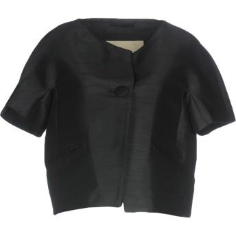 《セール開催中》HERNO レディース テーラードジャケット ブラック 40 ポリエステル 100%