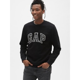 Gap ロゴ クルーネックスウェットシャツ