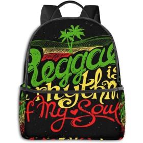 カジュアルバックパックファッションバックパック大容量学校レジャー旅行アウトドアビジネスワークコンフォートユニセックス 音楽778