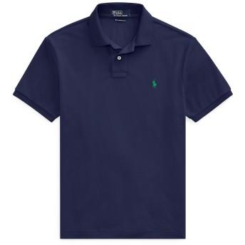 《セール開催中》POLO RALPH LAUREN メンズ ポロシャツ ダークブルー S ポリエステル 100% The Earth Polo Shirt
