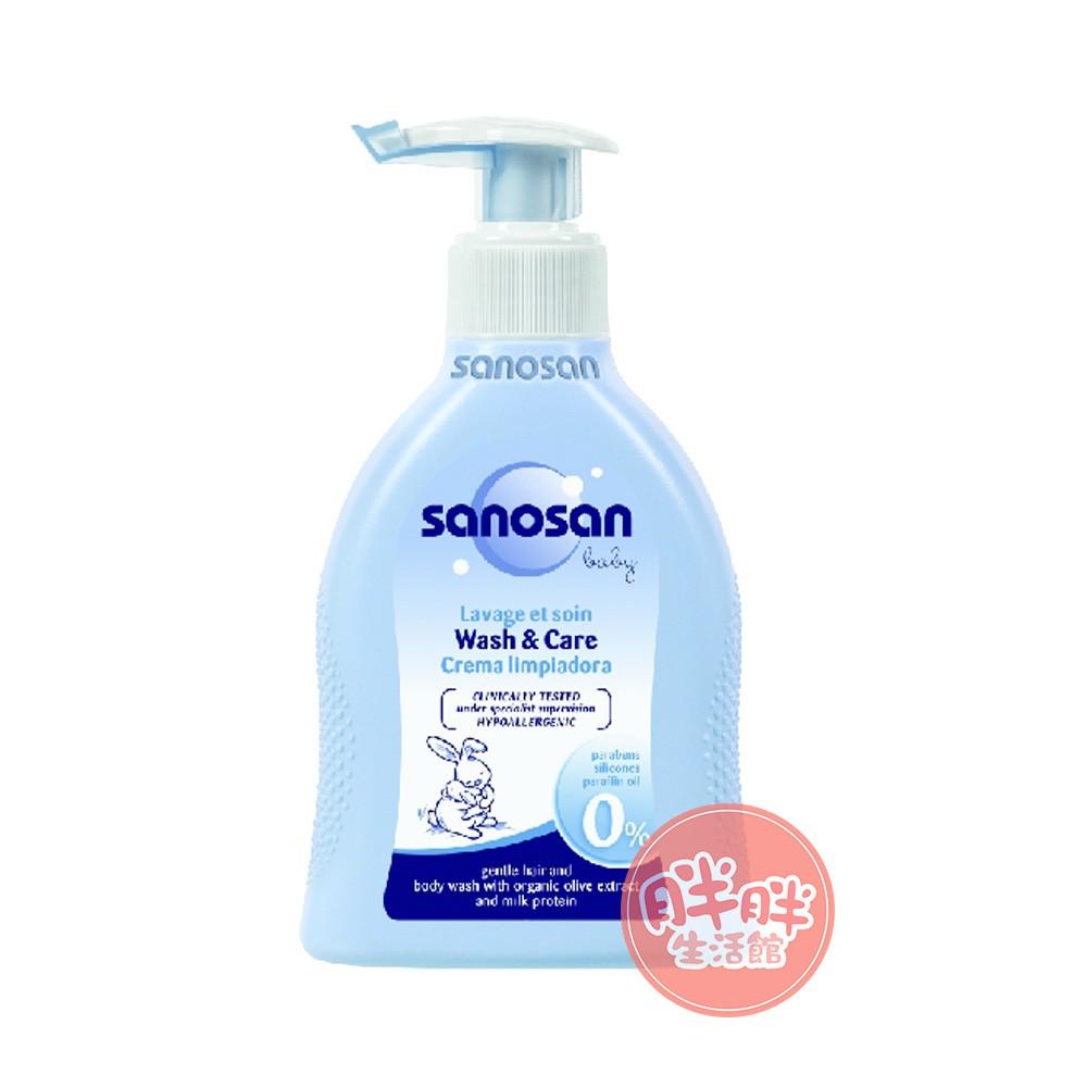 sanosan 珊諾 baby 泡泡浴露 200ml 寶寶 沐浴 嬰兒用品【胖胖生活館】
