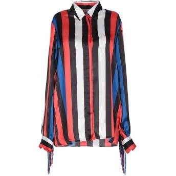 《セール開催中》MSGM レディース シャツ レッド 40 ポリエステル 100% / レーヨン / アセテート