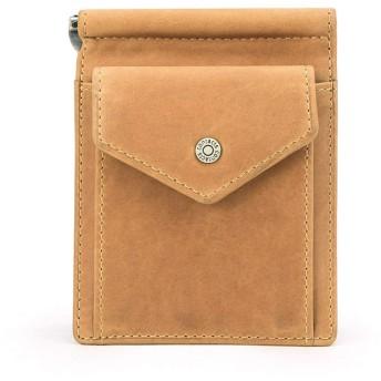 LEIHALAメンズ財布 ショートメンマネークリップオイルヌバック。クレジットカードスロット小さなコインポケット付き男性レトロマネーケースの財布