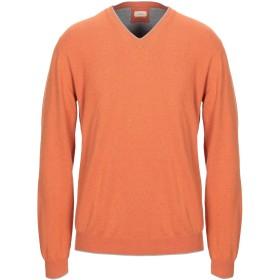 《セール開催中》ALTEA メンズ プルオーバー オレンジ L コットン 100%