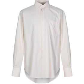 《期間限定セール開催中!》UNGARO メンズ シャツ アイボリー 41 コットン 100%