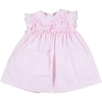 《セール開催中》LE BEB ガールズ 0-24 ヶ月 ワンピース・ドレス ピンク 3 コットン 100%