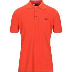 《セール開催中》ICE PLAY メンズ ポロシャツ オレンジ S コットン 100%