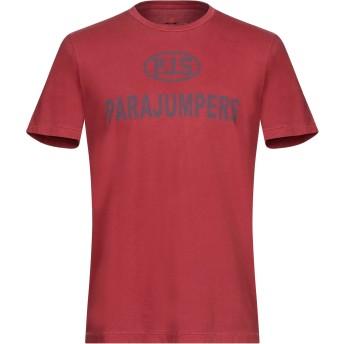 《セール開催中》PARAJUMPERS メンズ T シャツ レッド S コットン 100%