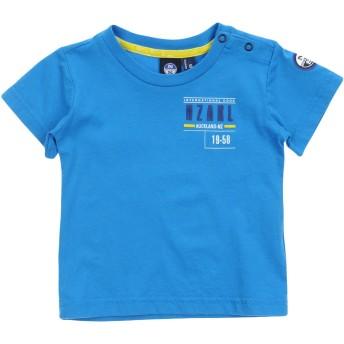 《セール開催中》NORTH SAILS ボーイズ 0-24 ヶ月 T シャツ ブルー 6 コットン 100%