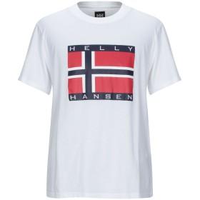 《セール開催中》HELLY HANSEN x SANDRO メンズ T シャツ ホワイト XS コットン 100%