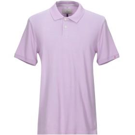 《期間限定セール開催中!》PEUTEREY メンズ ポロシャツ ライラック XL コットン 100%