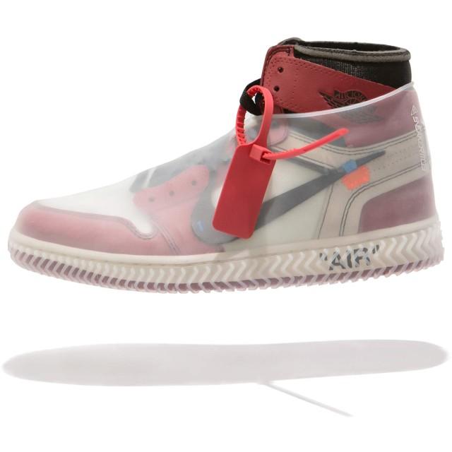[Sneaker Mob] シューズカバー シャドーホワイト - スタイリッシュな防水アイテム、雨や泥を完全にシャットアウト!劣悪な環境から大事なお靴を守ってくれる。