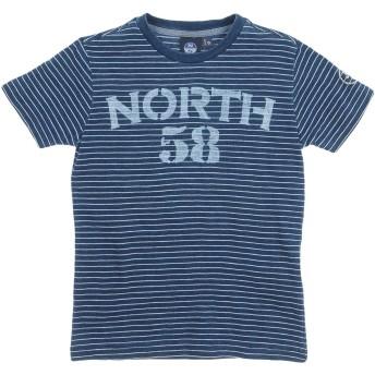 《セール開催中》NORTH SAILS ボーイズ 3-8 歳 T シャツ ブルー 6 コットン 100%