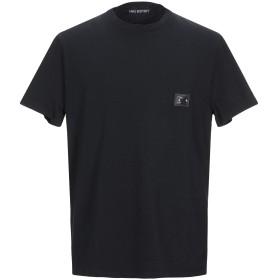 《セール開催中》NEIL BARRETT メンズ T シャツ ブラック XS コットン 94% / ポリウレタン 6%