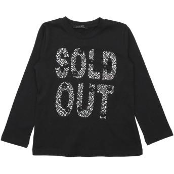 《セール開催中》J'AIME' ガールズ 3-8 歳 T シャツ ブラック 4 コットン 95% / ポリウレタン 5%