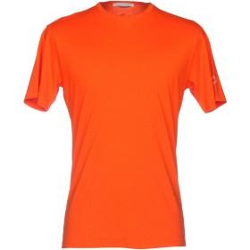 《セール開催中》DANIELE ALESSANDRINI メンズ T シャツ 赤茶色 XXL 100% コットン