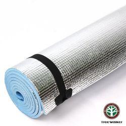 【TreeWalker】EVA雙人鋁箔軟墊(180x100x0.6cm)-2入