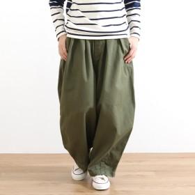 ハーベスティ HARVESTY コットン チノクロス サーカスパンツ COTTON CHINO CLOTH CIRCUS PANTS A11709 ブラック(19) アイボリー(31) カーキベージュ