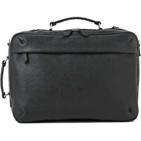 [ビームスライツ] ビジネスバッグ バッグ フェイクレザー 3WAY ブリーフバッグ メンズ ブラック