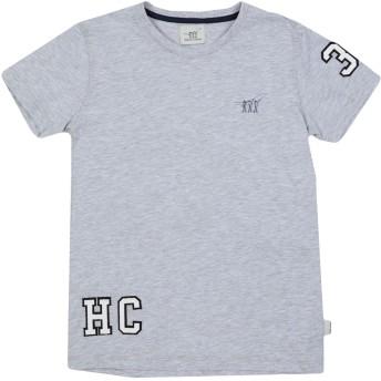 《セール開催中》HENRY COTTON'S ボーイズ 9-16 歳 T シャツ ライトグレー 10 コットン 50% / ポリエステル 50%