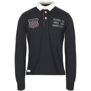 《セール開催中》NORTH SAILS メンズ ポロシャツ ダークブルー S コットン 100%