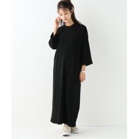 BOICE FROM BAYCREW'S 【TRADITIONAL WETHER WEAR/トラディショナル ウェザーウェア】SLIT LONG T DRESS ブラック S