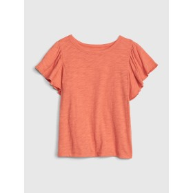 Gap キッズ フラッタースリーブTシャツ