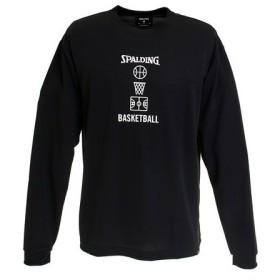 スポルディング(SPALDING) ロングスリーブTシャツ バスケットボールモチーフ SMT191120 (Men's)