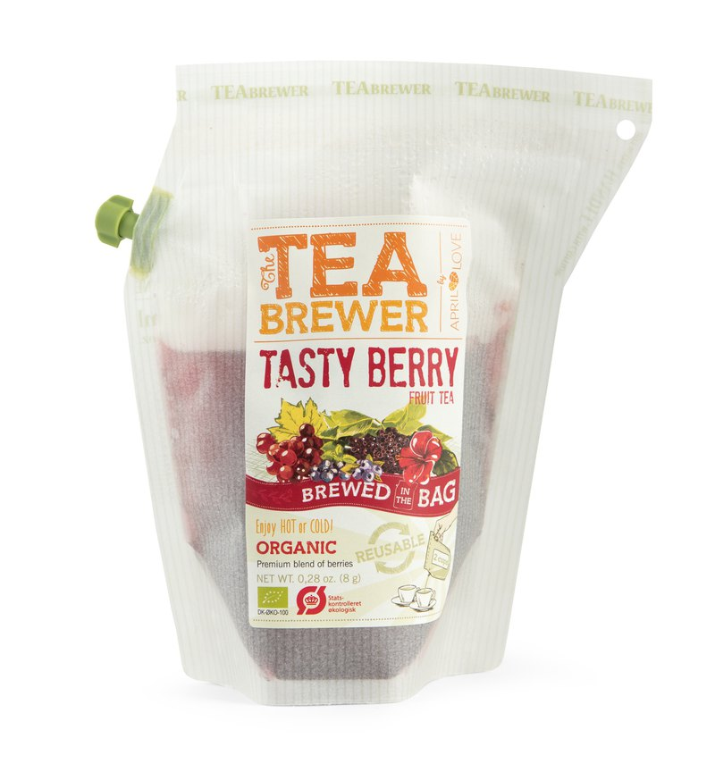 Tea Brewer 丹麥隨身茶飲-苺果茶 / Tasty Berry