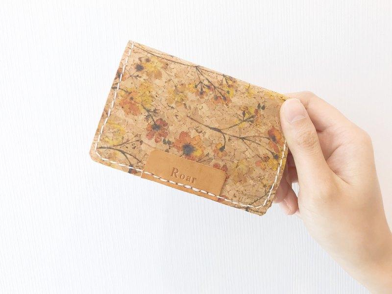 100%手縫皮革/ 鑰匙卡片套 /免費刻字/二色入