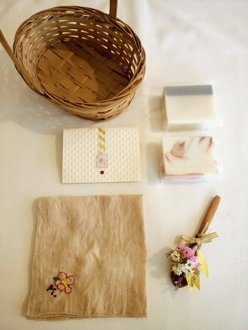 幸福莊園婚禮  手工皂禮籃組合