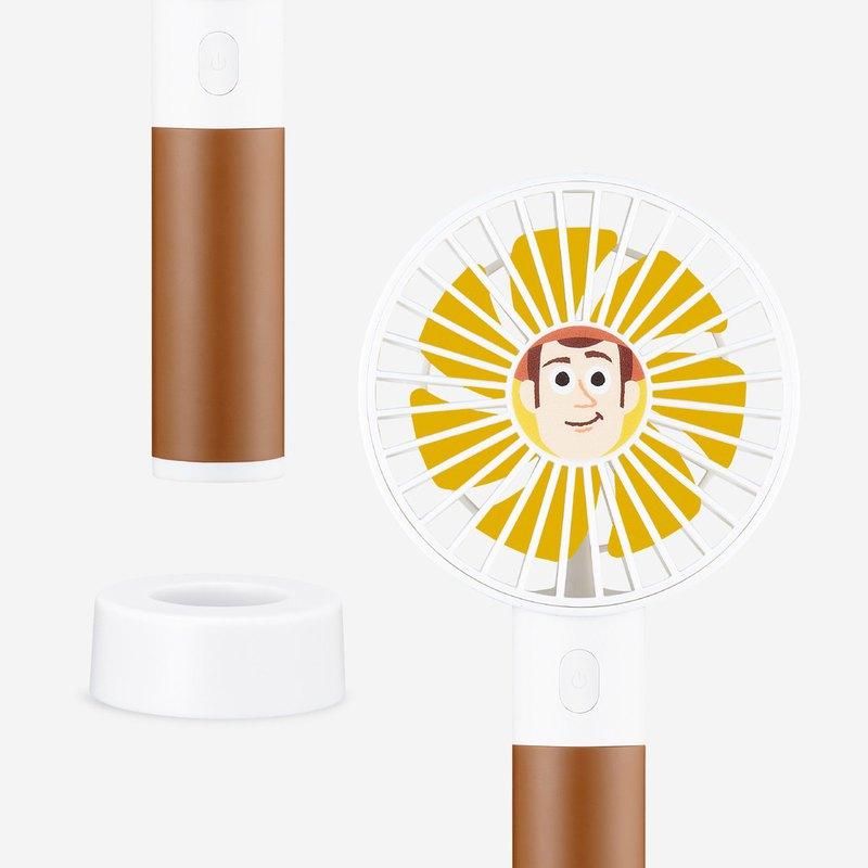 InfoThink 玩具總動員系列 行動x桌上兩用風扇 胡迪