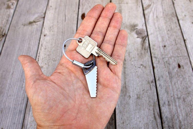 TROIKA 鋸子工具鑰匙圈