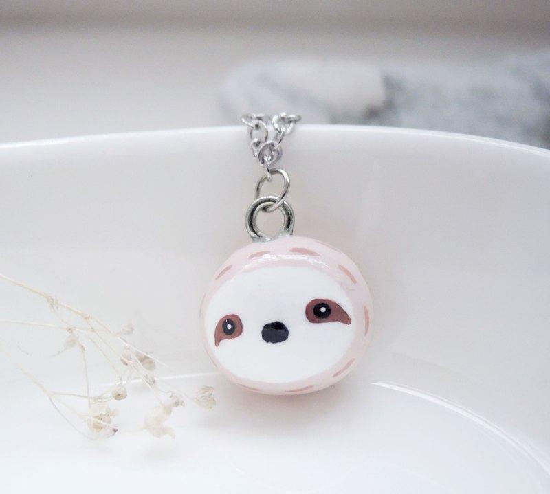 童話小動物  樹懶小寶貝手工可愛項鏈