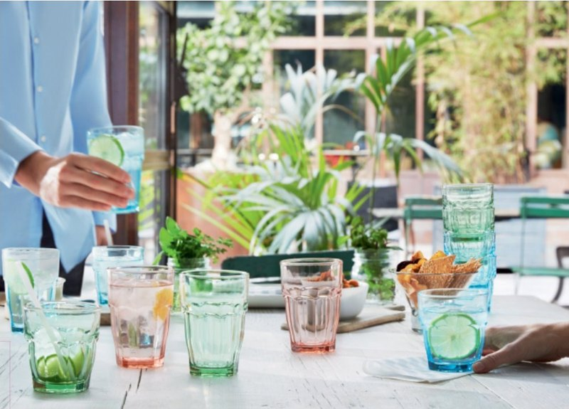 義大利 Bormioli Rocco Rock Bar Lounge 彩色強化玻璃杯 2種尺寸