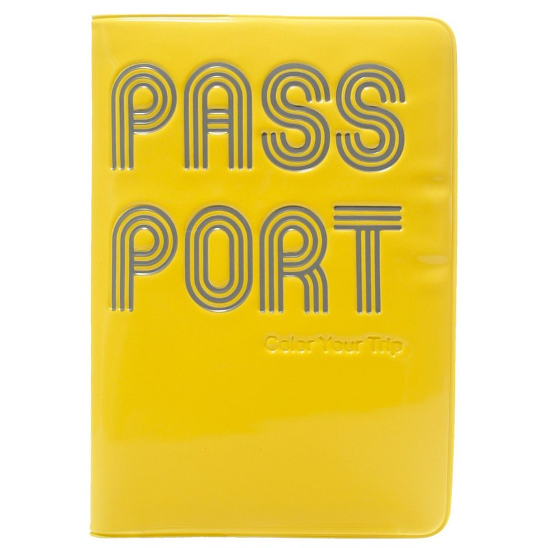 Rollog 護照套 (黃色)