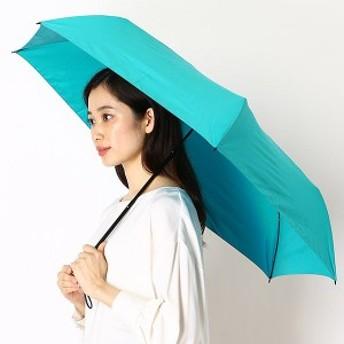 フロータス(FLO(A)TUS)/雨傘(3段/折りたたみ/ミニ/楽々開閉)【超撥水/軽量/UVケア】無地(ユニセックス)