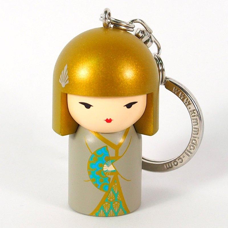 鑰匙圈-Yasuko 圓滿安康【Kimmidoll 和福娃娃鑰匙圈】
