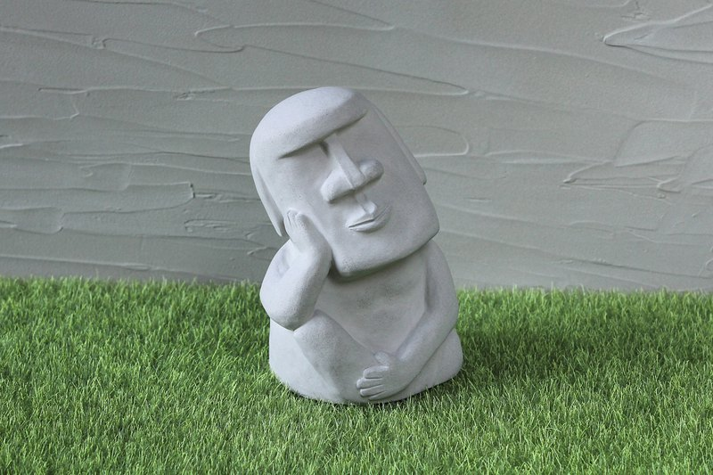 水泥摩艾 Moai-想想摩艾