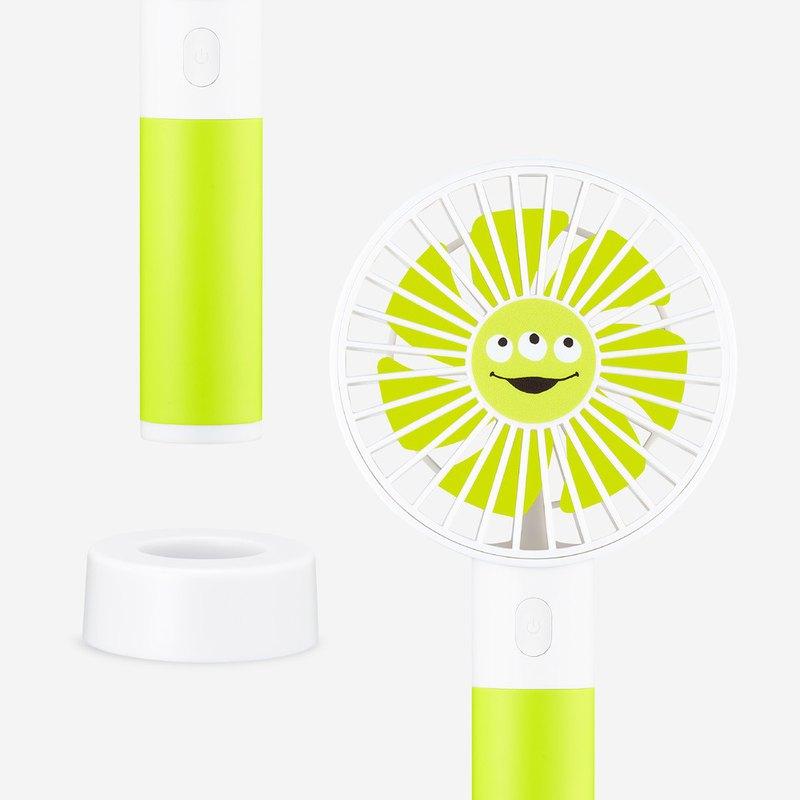 InfoThink 玩具總動員系列 行動x桌上兩用風扇 三眼