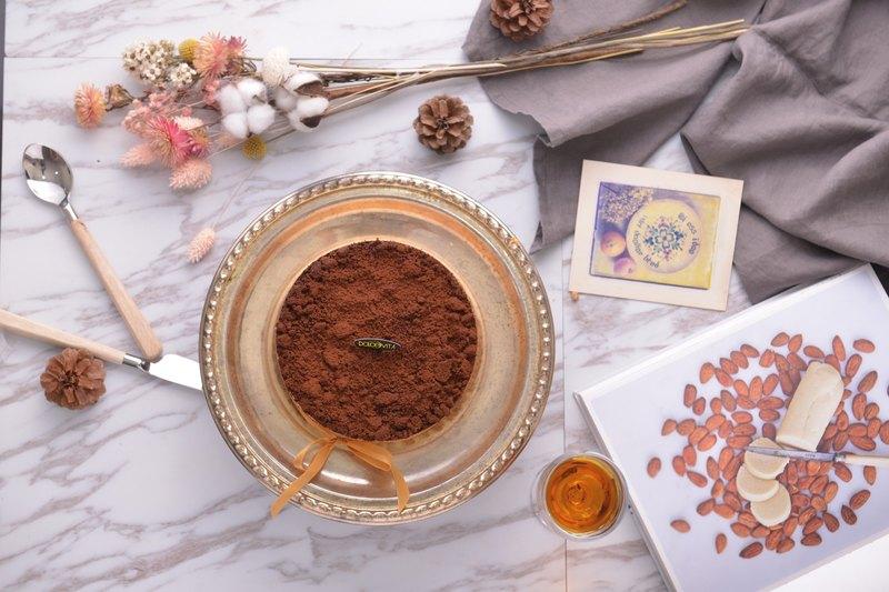 多茄米拉 | 原粹提拉米蘇(六吋)濃厚咖啡酒香-道地義大利風味