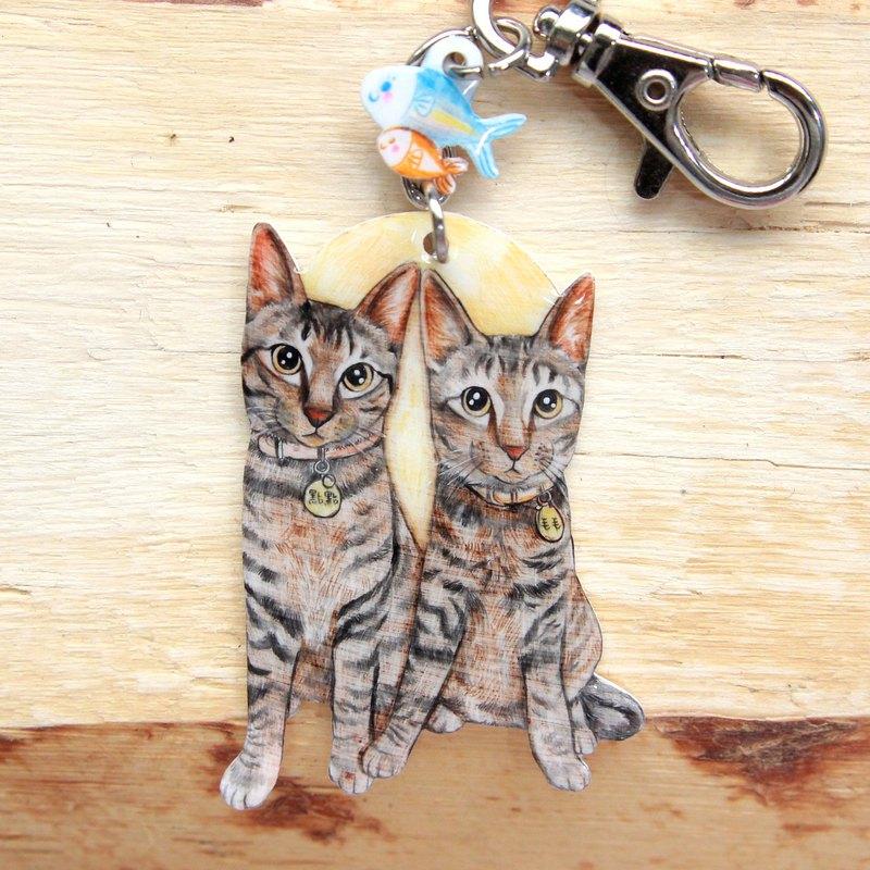 寵物客製化鑰匙圈*兩隻*