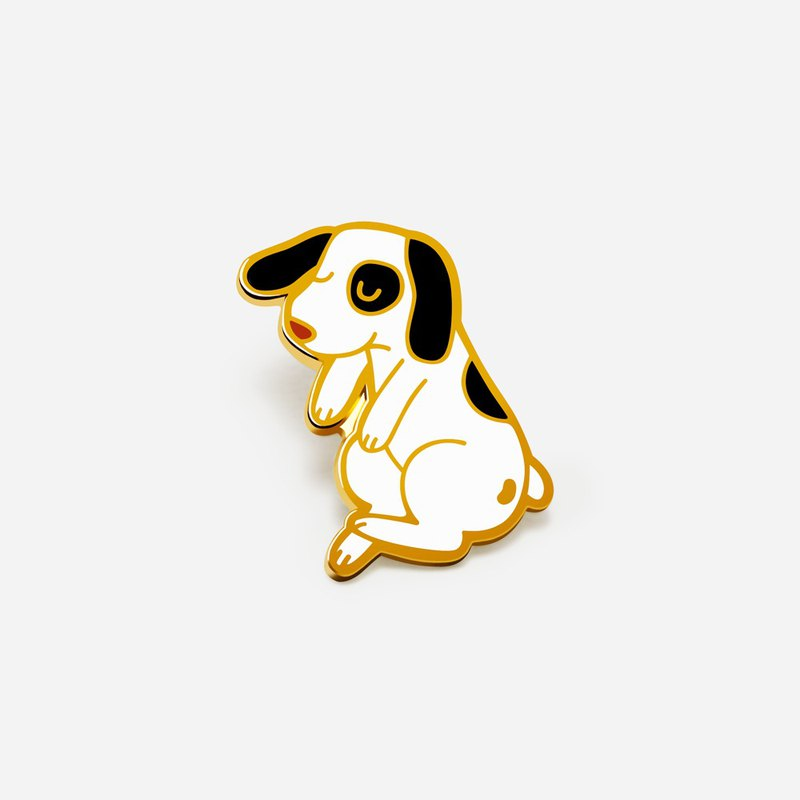 浮動狗搪瓷銷