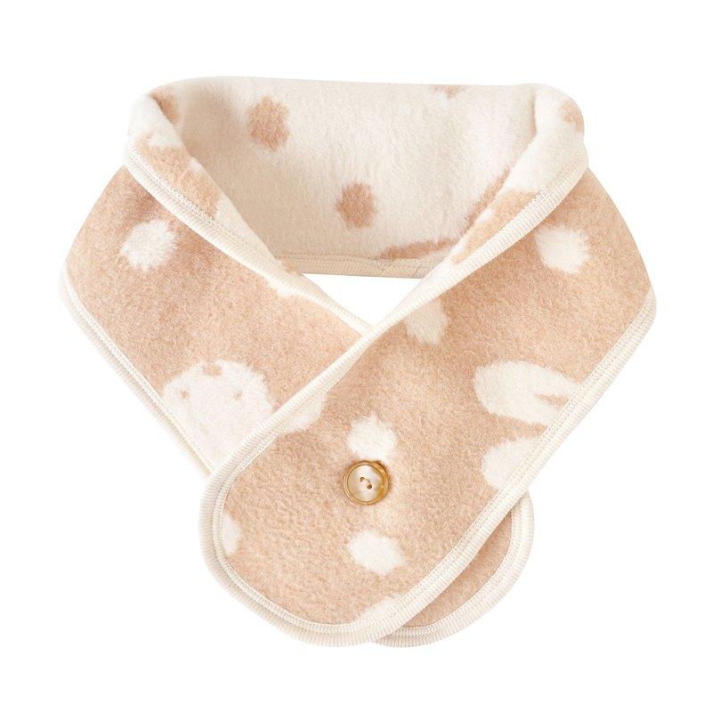 【SISSO有機棉】日本有機棉寶寶棉毛圍巾(兔)