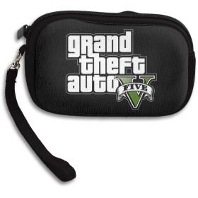 Grand Theft Auto V グランド セフト オート 可愛い財布 小銭入れ ミニ財布 コンパクト ジップ ポーチ 多機能 カード入れ シンプル 携帯便利 ファスナー