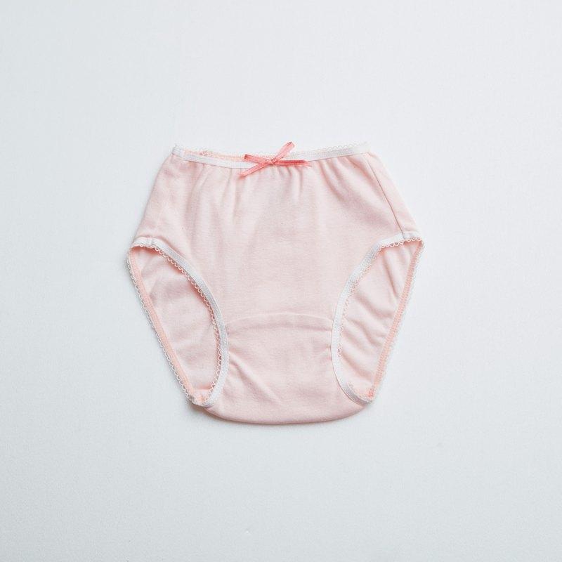 bbc有機棉女孩三角內褲(粉紅)