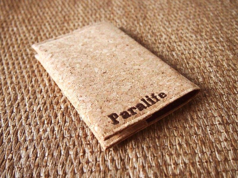 Paralife 客製自己名字的軟木 護照夾 / 護照套 / 護照本 量身訂造 美好旅行 旅程 Passport Cover