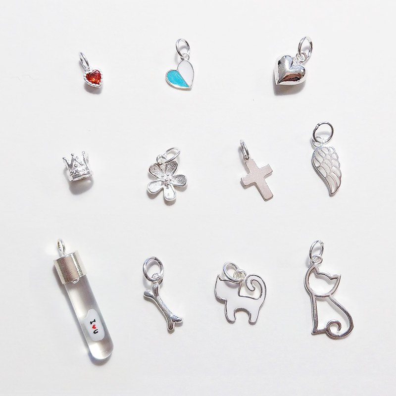 加購吊飾區 可加在任何項鍊、手鍊、鑰匙圈飾品上 (不含米雕)